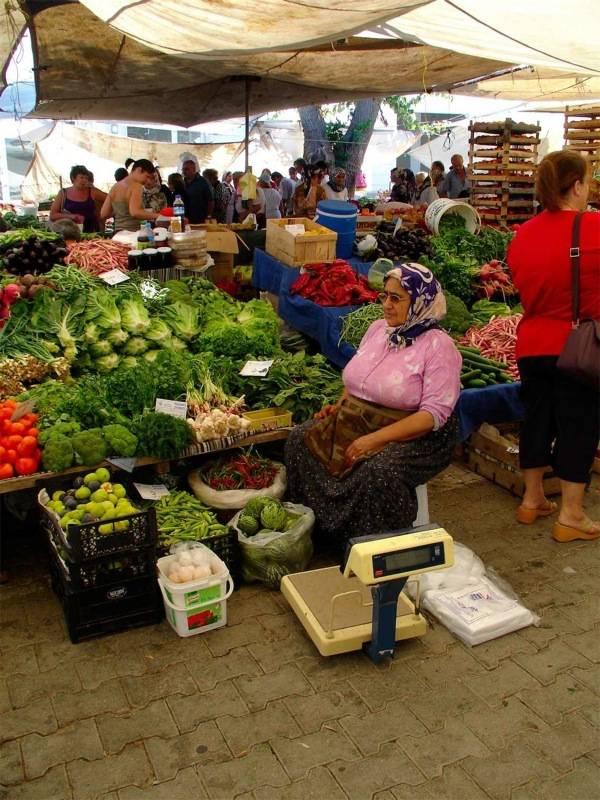 Market grocery Kemer