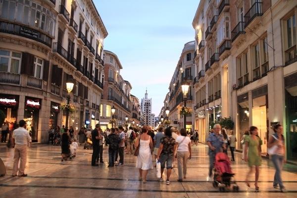Larios-main-street-Malaga