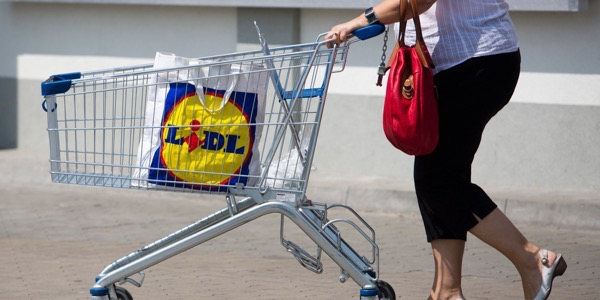 Inside A Lidl Discount Supermarket Store As Schwarz Group Expands Outlets
