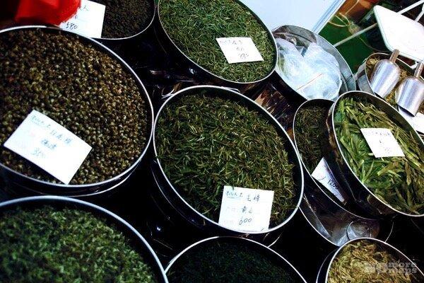 Чайный рынок Тянь-Шань