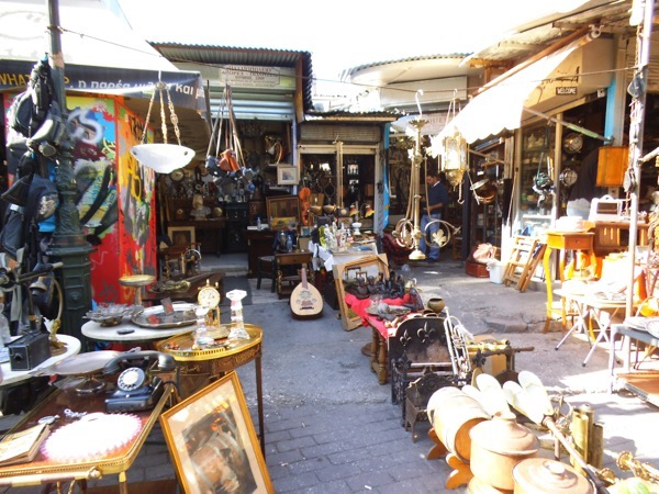 Блошиный рынок Монастираки