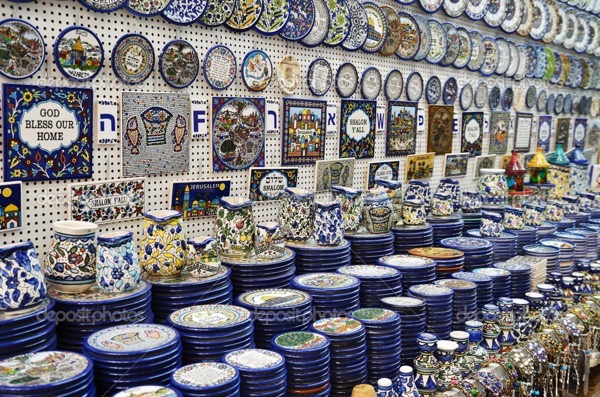 Classical armenian ceramics on the Israel market